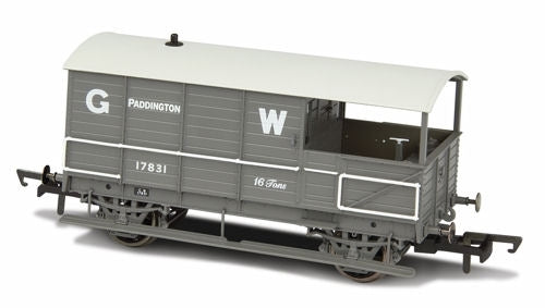 *Toad Brake Van GWR 4 Wheel Planked (early) Paddington - Chester Model Centre