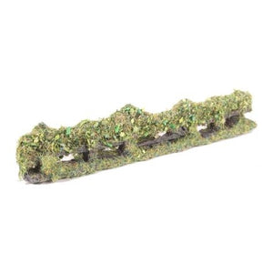 OO Gauge Rough Bush Covered Fencing (Bag Of 6) - Chester Model Centre