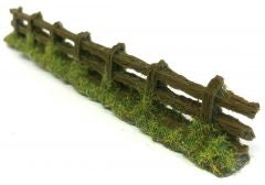 OO Gauge Rough Country Weathered Fencing (Bag of 6) - ChesterModelCentre