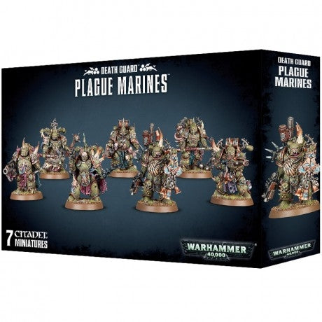 Death Guard Plague Marines - Chester Model Centre