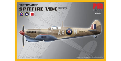 Supermarine Spitfire VB/C Tropical - ChesterModelCentre