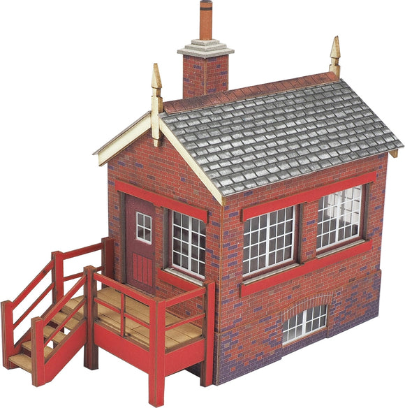 PO430 OO Gauge Small Signal Box - Chester Model Centre