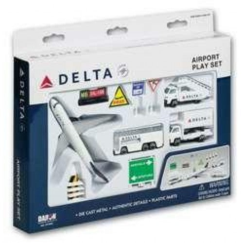 Premier Planes RT4991 - DELTA AIRLINES AIRPORT PLAYSET - Chester Model Centre