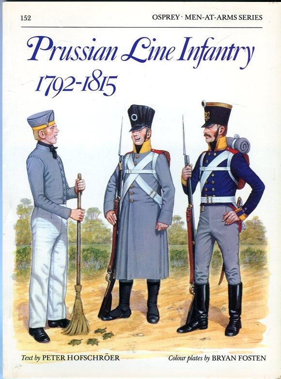 Prussian Line Infantry 1792-1815 - Chester Model Centre