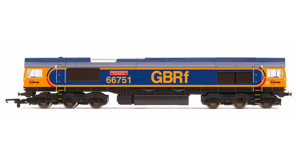 GBRf Class 66 'Inspiration Delivered - Hitachi Rail Europe' - ChesterModelCentre
