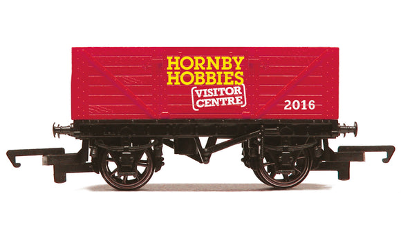 Hornby R6779 Hornby Visitor Centre 2016, 7 Plank Open Wagon - Chester Model Centre