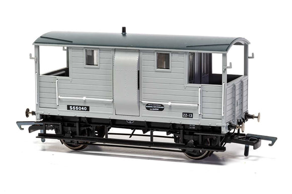 Hornby R6915 BR, 24T Diag. 1543 Goods Brake Van, S55040 - Era 4 - Chester Model Centre