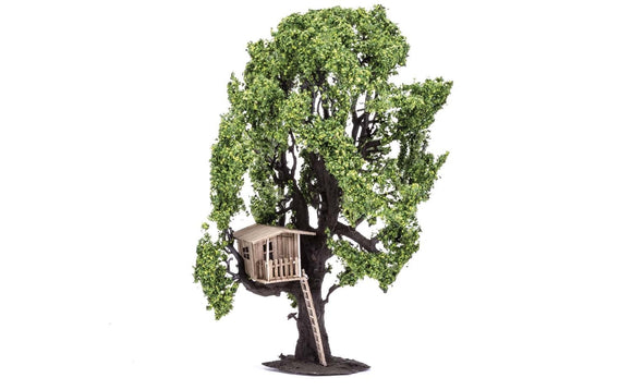Tree with Tree House 15cm - Chester Model Centre