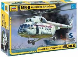 Russian Rescue Helicopter MIL MI-8 - ChesterModelCentre