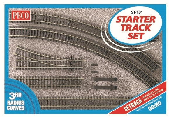 Setrack OO/HO Starter Track Set  3rd Radius - Chester Model Centre