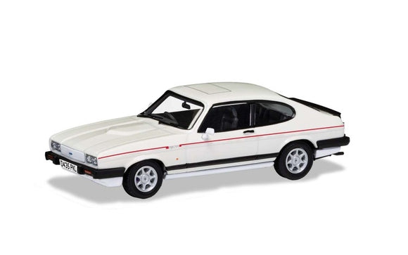 VA10819 Ford Capri Mk3 2.8i - Diamond White - Chester Model Centre