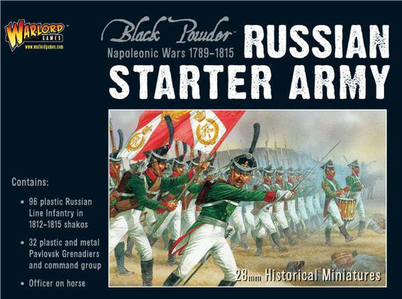 Black Powder Napoleonic Russian Starter Army