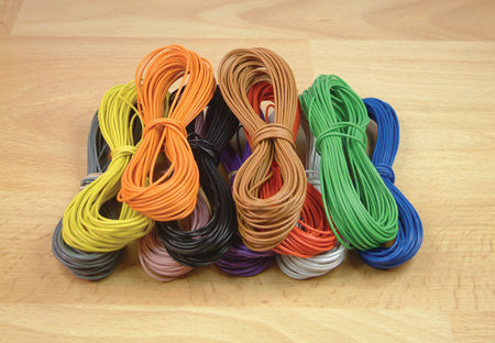 10m Layout Wire 18 Strand/0.1 Yellow
