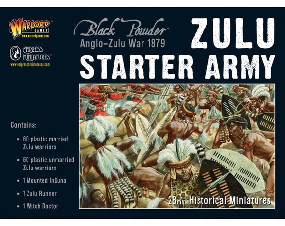 Black Powder Anglo-Zulu War Zulu Starter Army - Chester Model Centre