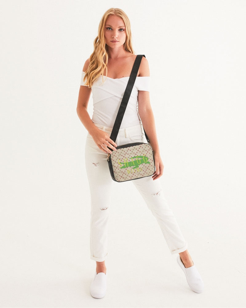 'Alligator At The Beach' Crossbody