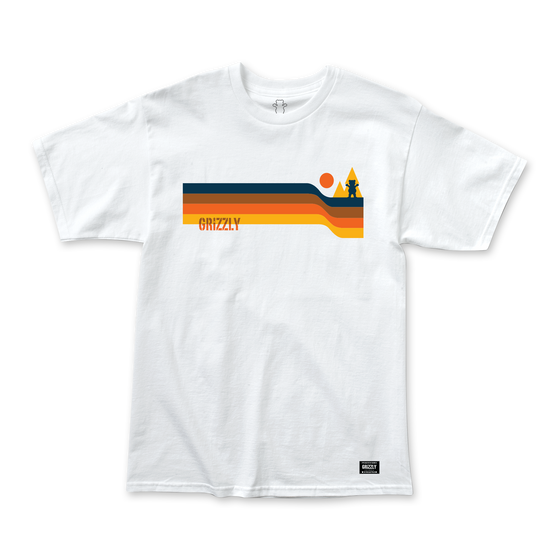 Camiseta Grizzly Retro Stripes Tee