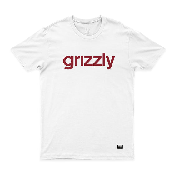 T-SHIRT GRIZZLY LOWERCASE LOGO - Z01GPA97