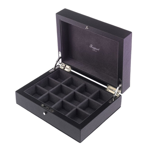 Rapport-Mens-Berkeley Twelve Cufflink Box-
