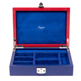 Sample Red and Blue Jewellery Box