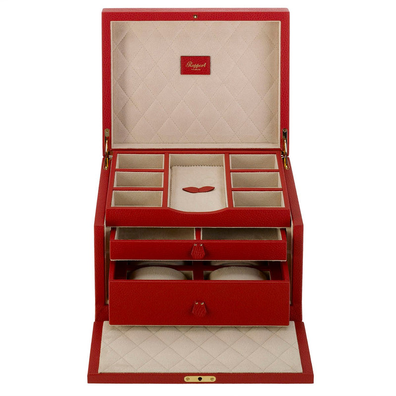 Rapport-Ladies-Aura Grand Jewellery Box-Red