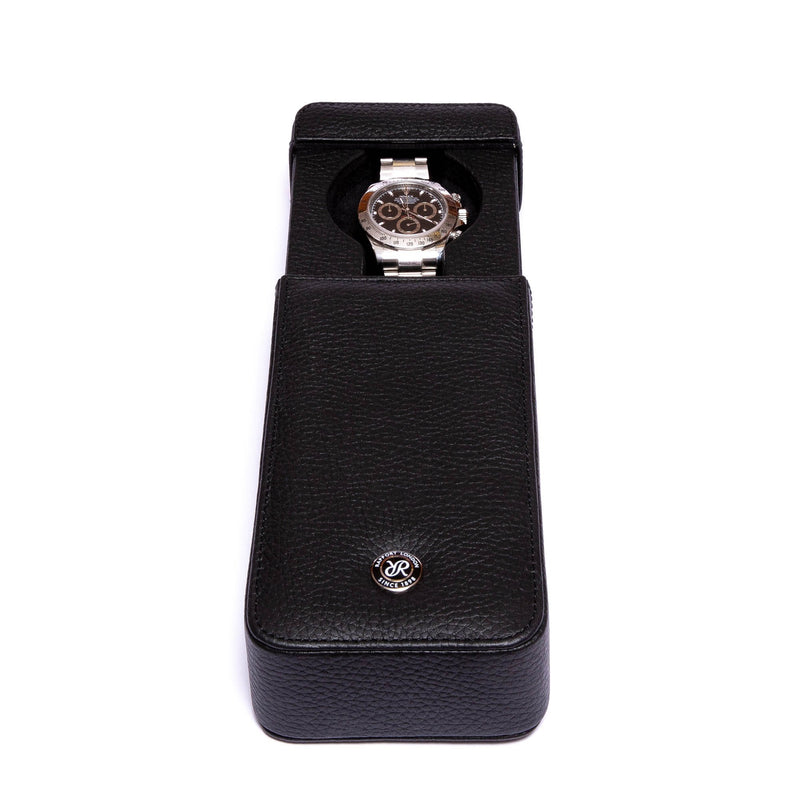 Rapport-Watch Accessories-Berkeley Single Watch Slipcase-Black