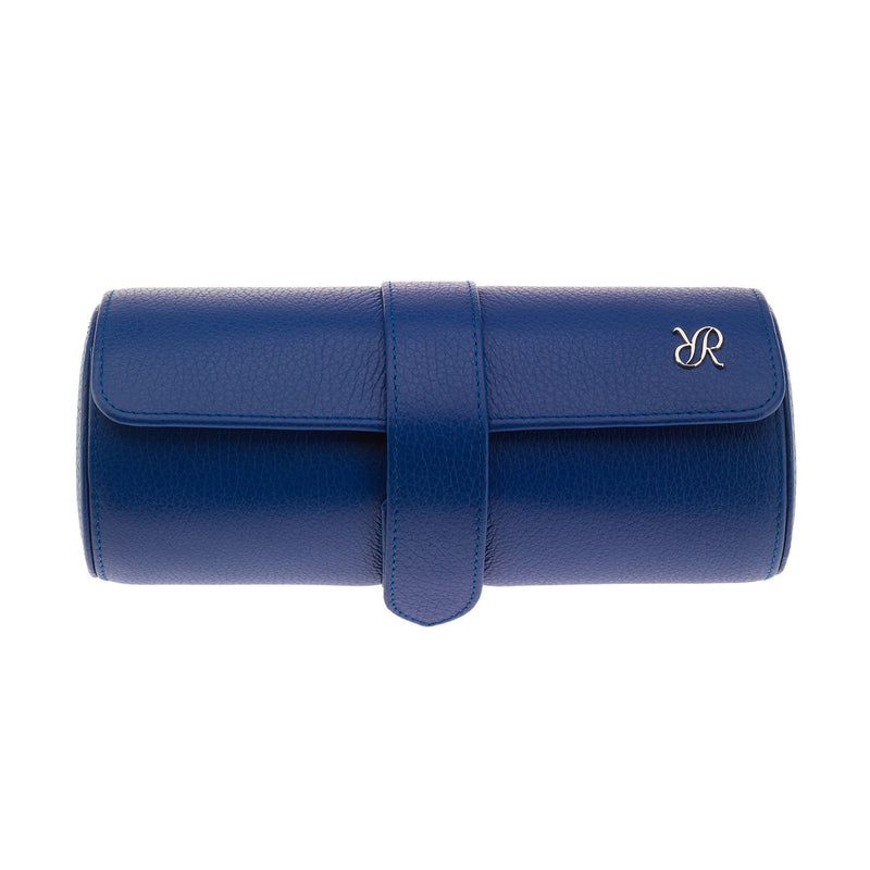 Rapport-Watch Accessories-Berkeley Three Watch Roll-Blue