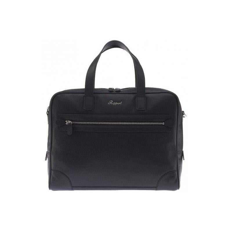 Rapport-Mens-Berkeley Laptop Briefcase-Black