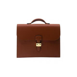 Rapport-Mens-Berkeley City Briefcase-Tan