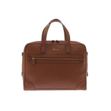 Rapport-Mens-Berkeley Laptop Briefcase-Tan