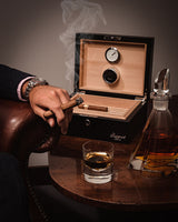 Brompton Small Leather Humidor