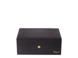 Rapport-Mens-Brompton Medium Leather Humidor-Brown