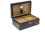 Rapport-Mens-Brompton Medium Leather Humidor-