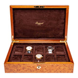 Rapport-Watch Box-Heritage Ten Watch Box-Burr Walnut