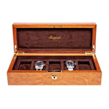 Rapport-Watch Box-Heritage Five Watch box-Burr Walnut