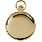 Open Face Gold Plated Pocket Watch 52mm