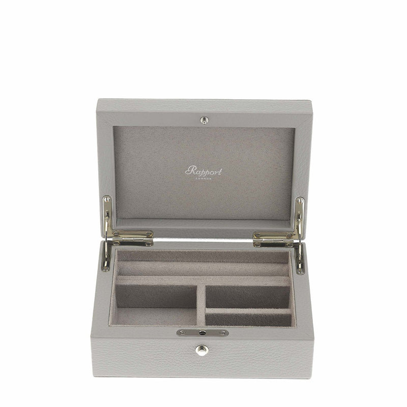 Rapport-Ladies-Layla Medium Jewellery Box-Grey