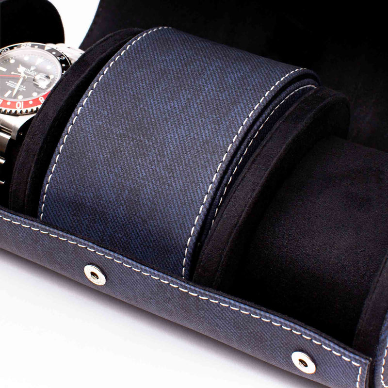 Rapport-Watch Accessories-Soho Three Watch Roll-