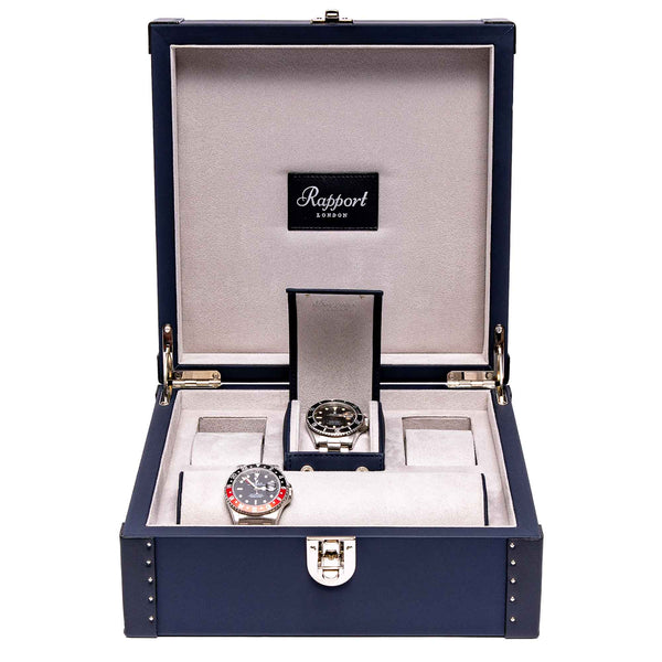 Rapport-Watch Box-Kensington Six Watch Box-Blue
