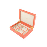 Rapport-Ladies-Diana Large Jewellery Box-Orange