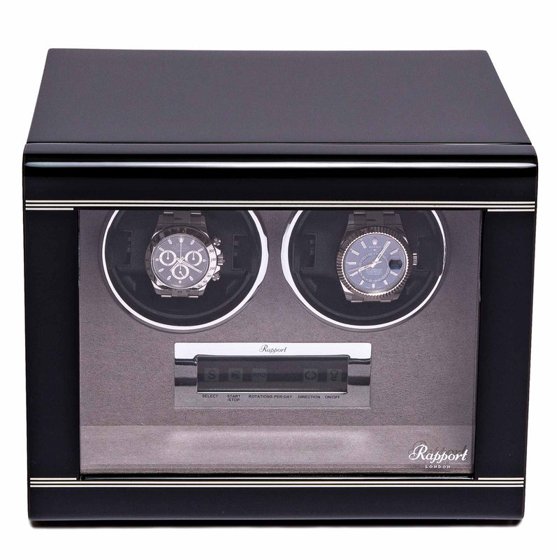 Rapport-Watch Winder-Formula Duo Watch Winder-Black