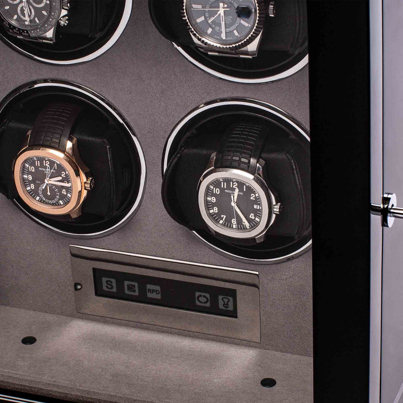 Rapport-Watch Winder-Formula Quad Watch Winder-