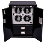 Rapport-Watch Winder-Four Watch Mariners Chest-Ebony