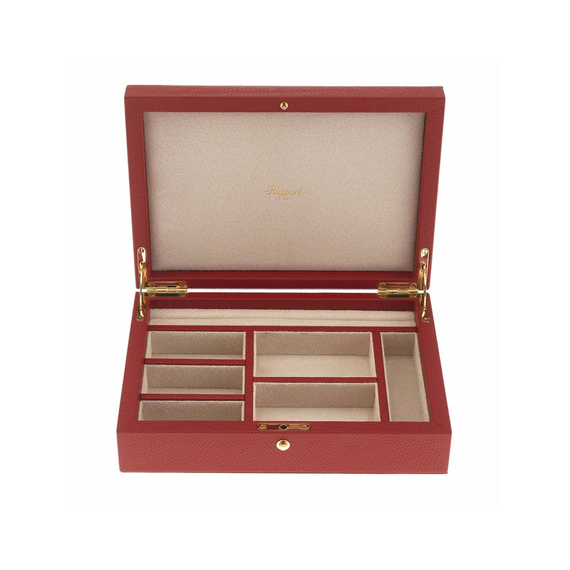 Rapport-Ladies-Diana Large Jewellery Box-Red