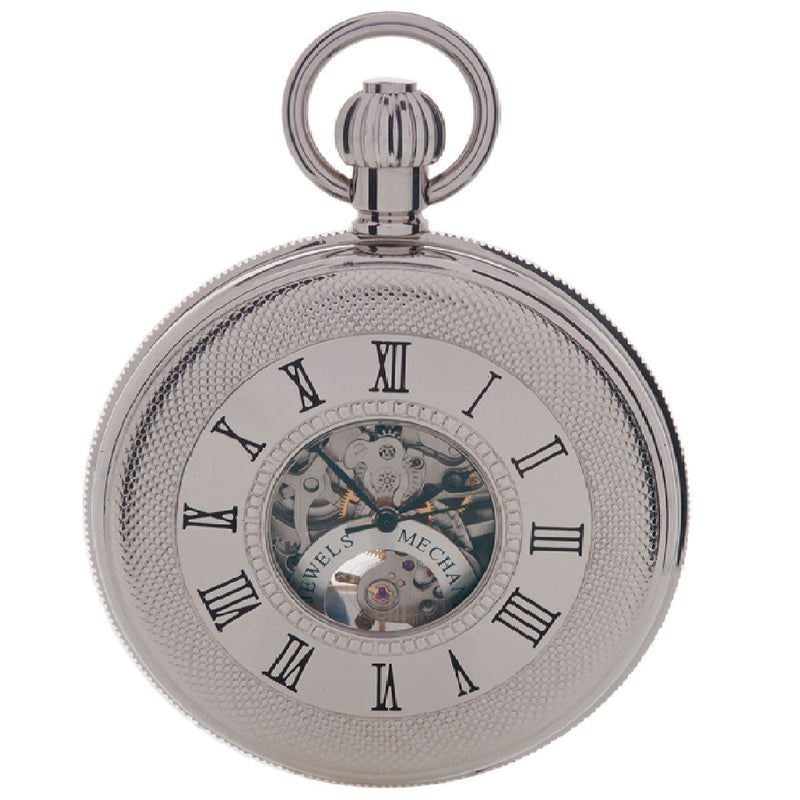 Mechanical Half Hunter Pocket Watch 50mm