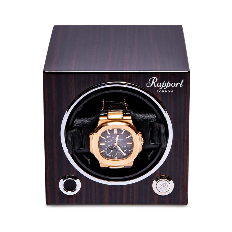 Rapport-Watch Winder-Evo Single Watch Winder-Macassar