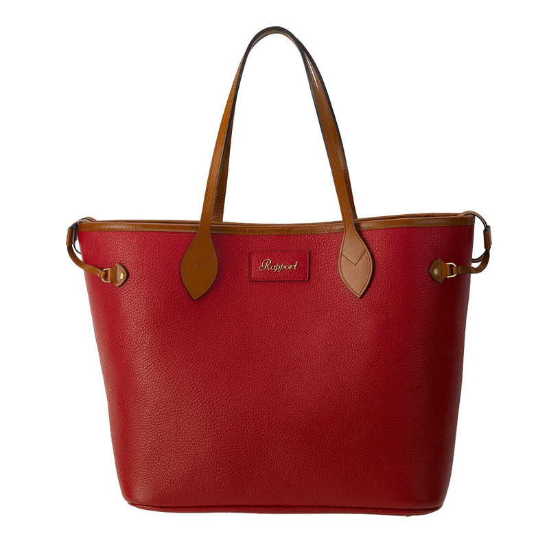 Rapport-Ladies-Sussex Tote Bag-Red