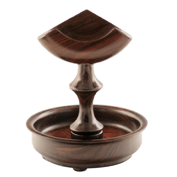 Pocket Watch Stand Walnut Triangle