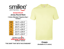Load image into Gallery viewer, BASIC JERSEY ROUND NECK (CREAM)