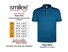 Load image into Gallery viewer, BASIC PIQUE POLO (AQUA BLUE)
