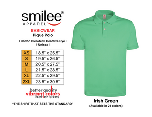 BASIC PIQUE POLO (IRISH GREEN)